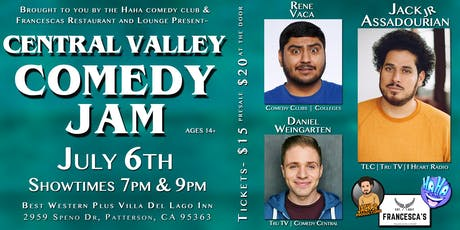 Central Valley Comedy Jam tickets