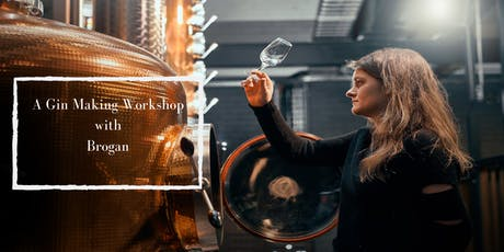 Gin Distilling Class with Brogan tickets