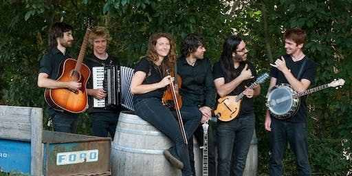 Celtic Night with Knackers Yard at Tractorgrease Cafe