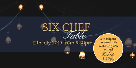 EFYC's Six Chef Table - Long Table Dinner tickets