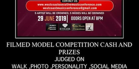 MODEL COMPETITION WEST COAST EXECUTIVE MUSIC CONFERENCE tickets