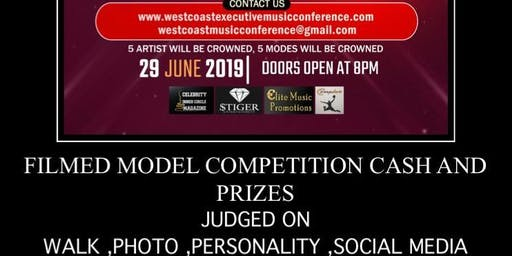 MODEL COMPETITION WEST COAST EXECUTIVE MUSIC CONFERENCE