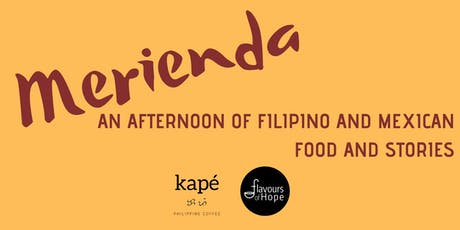 Merienda: An Afternoon of Filipino and Mexican Food and Stories tickets