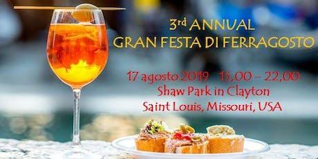 Gran Festa di Ferragosto 2019 tickets