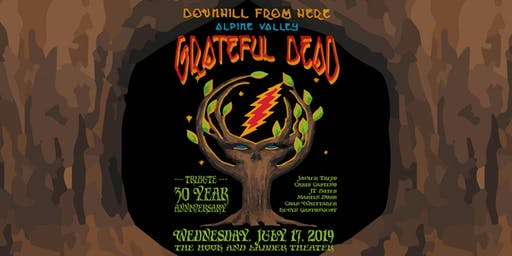 """Downhill from Here"" 30 Year Anniversary of Grateful Dead at Alpine Valley"