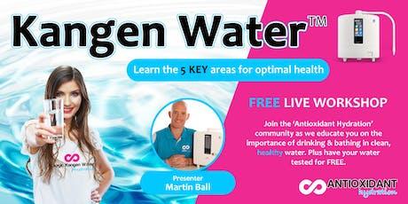 Kangen Water™ For Your Health - Currambine, WA tickets
