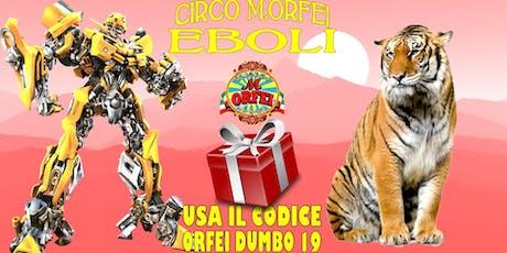 Il Circo M.Orfei a EBOLI, dal 13 al 23 giugno biglietti