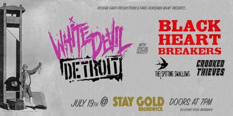 White Devil Detroit presents: Raw Backwards Rock 'n' Roll tickets