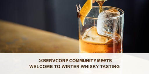 Welcome to Winter Whisky Tasting | Presented by Servcorp PwC Tower
