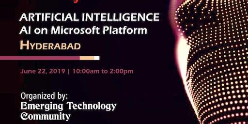 Artificial Intelligence - AI on Microsoft Platform | Hyderabad