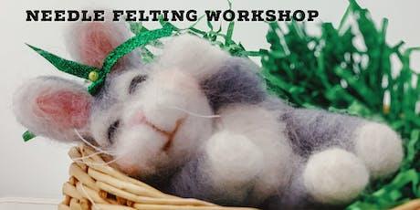 September 14th Needle Felting Workshop tickets