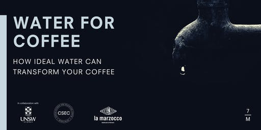 WATER FOR COFFEE BRISBANE