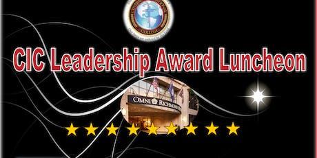 CIC Leadership Award Luncheon tickets
