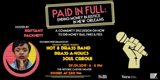 Paid in Full: Ending Money Injustice in New Orleans