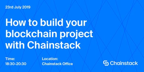 Blockchain and DApps Meetup: How to Plan Your Blockchain Project with Chainstack  tickets