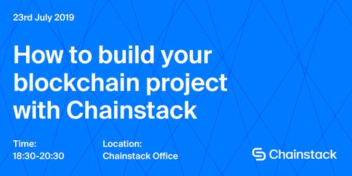 Blockchain and DApps Meetup: How to Plan Your Blockchain Project with Chainstack
