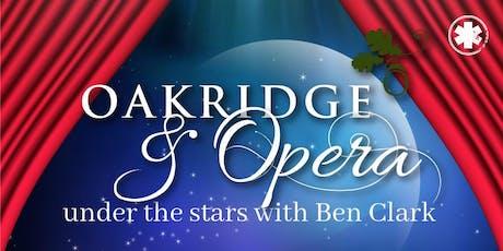 Oakridge & Opera - Under the Stars tickets