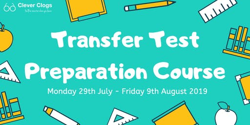 Transfer Test Preparation Course - Summer 2019