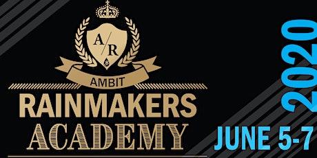 Rainmakers Academy 2020 tickets