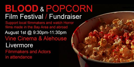 Blood & Popcorn Film Festival / Fundraiser