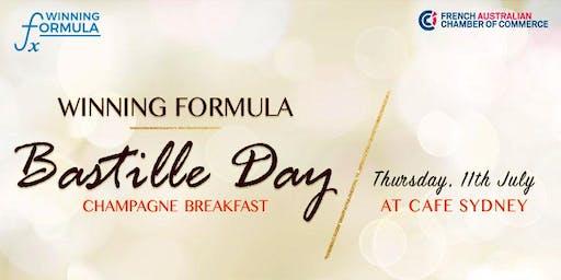 NSW   2019 Winning Formula Bastille Day Champagne Breakfast