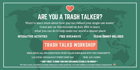 Trash Talks Workshops tickets