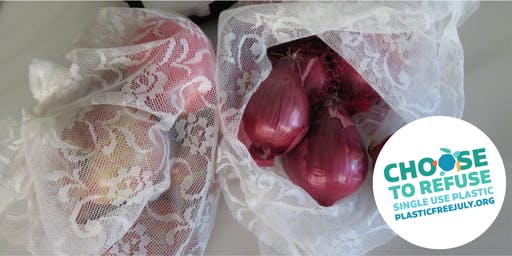 Plastic Free July: Produce Bags & Ideas for Reusing Materials