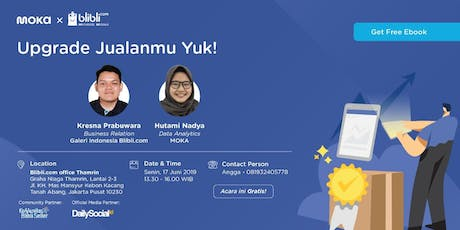 Upgrade Jualanmu, Yuk! tickets