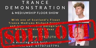 Andrew Lindsay Medium Live -Trance demonstration &  floor show - Falkirk