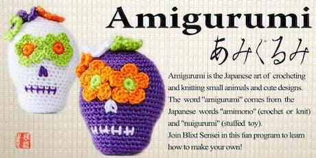 Wednesday Five Week Amigurumi Class tickets
