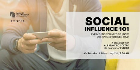 Social Influence 101 tickets