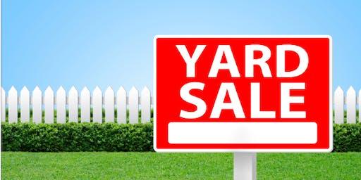 Garage Sale-Pop Up Thrift Shop