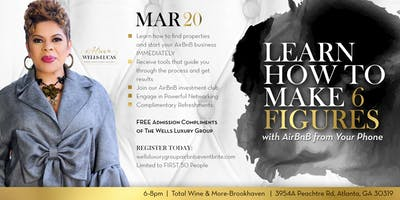 FREE TRAINING EVENT!! Make SIX FIGURES in REAL ESTATE with AirBnB