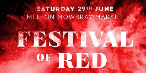 Festival of Red 2019