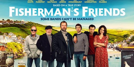 Fisherman's Friend 18.50 for 19.00 16th July at Barrowby Open Door AND FUTURE FILMS DATES
