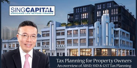 Tax Planning for Property Owners or Investors tickets