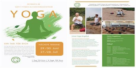 Yoga Retreat im Q4Fit mit Peggy und Jörg,  HumanTrust von Veit Lindau Tickets