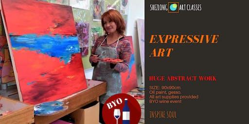 EXPRESSIVE ART-transformational workshop