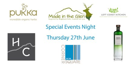 Special Events Night tickets