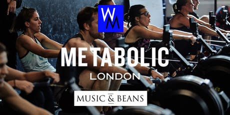 Work Me Shape Me: GET FIT & SOCIAL! Workout at Metabolic & Lunch at Music and Beans  tickets