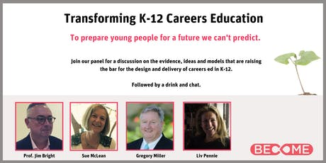 Transforming K-12 Careers Education tickets