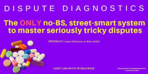 World-Exclusive Street-Smart Conflict Resolution: Manhattan (24-5 Jan 2020)