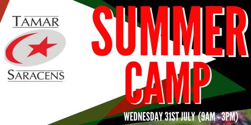 Tamar Saracens Rugby Club - Summer Camp