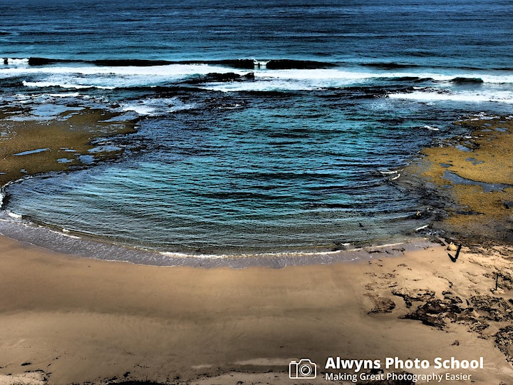 """Photography Course 16-Seascape and """"Castle""""  Photography 2-Point Nepean image"""