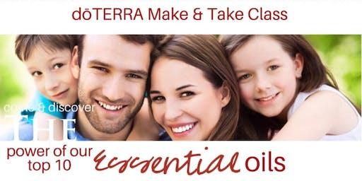 Top 10 dōTERRA Essential Oils 101 Make & Take Class