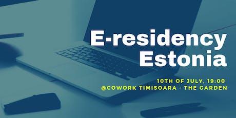 E-residency Estonia tickets
