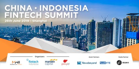 Indonesia China Fintech Summit tickets