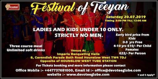 Festival of Teeyan