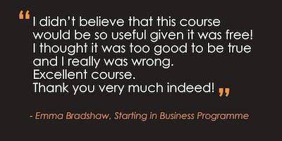 Starting in Business Programme – Nottingham