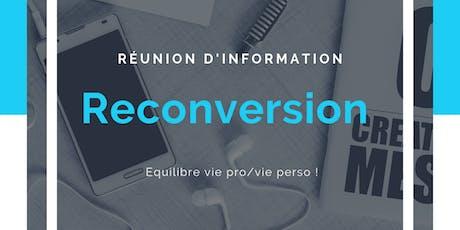 Spécial Reconversion - opportunité secteur Nice/Antibes billets